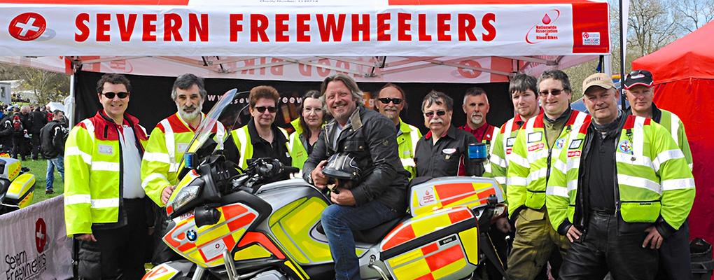 Blood Bikes Severn Freewheelers