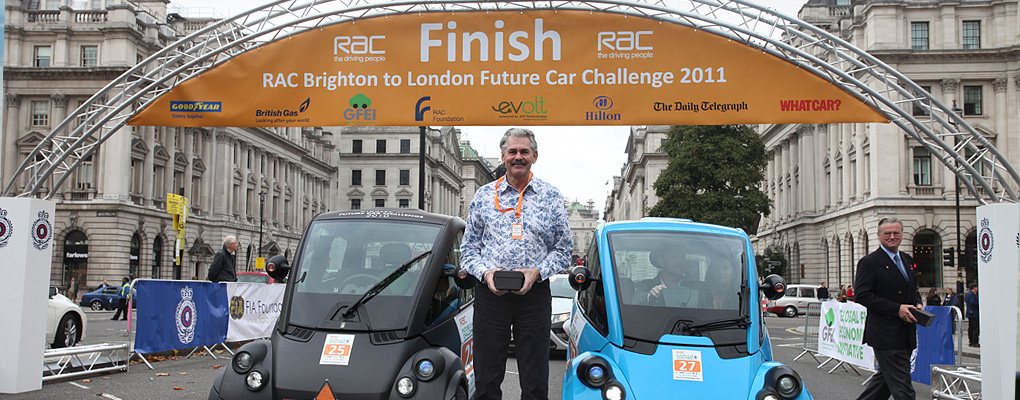RAC Brighton to London Future Car Challenge 2011