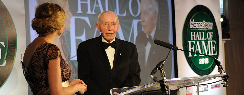 Motor Sport Hall of Fame 2016 John Surtees