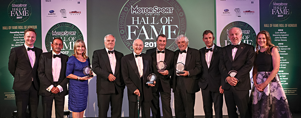 Motorsport Hall of Fame 2017