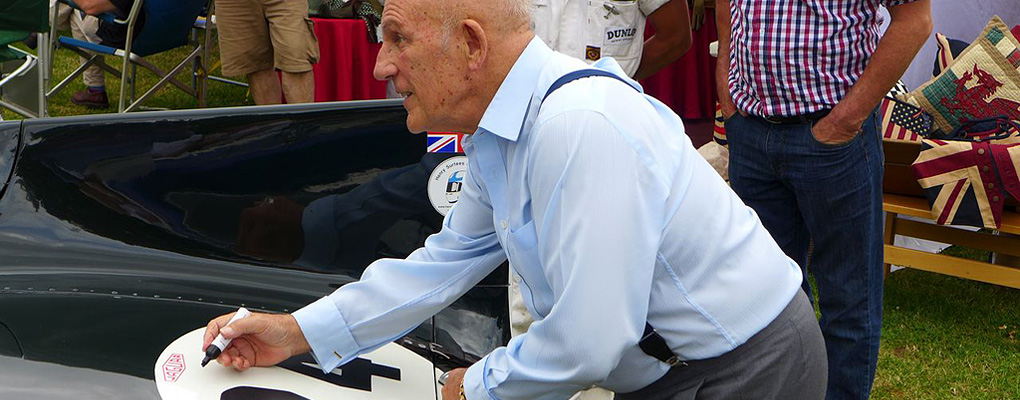 Stirling Moss at Shelsley