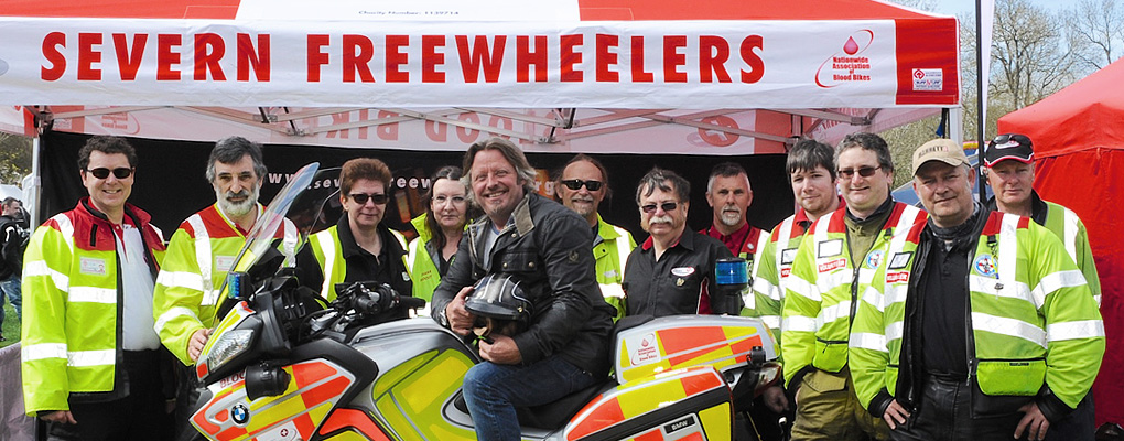 Blood bikes - Severn Freewheelers